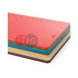 Deska do krojenia HACCP Perfect Cut 500x380 mm czerwona do surowego mięsa 826416