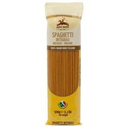 500g spaghetti makaron razowy (semolina) bio marki Alce nero