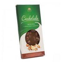 Dietetyczna czekolada mleczna z orzechami 100g
