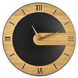 Zegar ścienny bamboos karmelove ii marki Woodwaycrafts