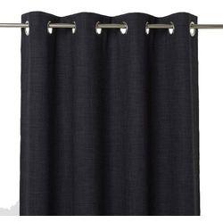 Goodhome Zasłona zaciemniająca novan 140 x 260 cm czarna