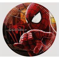 Talerzyki papierowe Spider-Man 8 sztuk