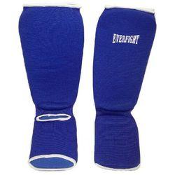 Ochraniacz goleń stopa bawełna M blue - produkt z kategorii- Ochraniacze i kaski do sportów walki