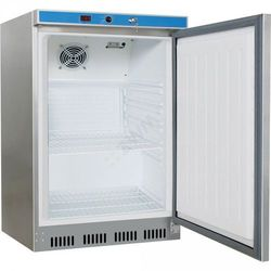 Stalgast szafa chłodnicza 130 l, wnętrze z ABS, stal nierdzewna, kolor szary