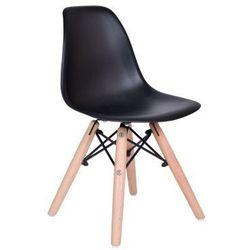 """Krzesło dziecięce """"paris kids"""" - czarny marki Gockowiak"""