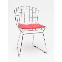 Krzesło dziecięce Harry Junior inspirowane Diamond Junior - czerwony