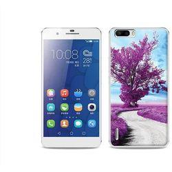 Foto Case - Huawei Honor 6 Plus - etui na telefon Foto Case - purpurowe drzewo (Futerał telefoniczny)