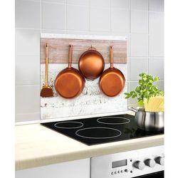 Wenko Szklana płyta ochronna copper na kuchenkę – 60x50 cm,  (4008838222140)