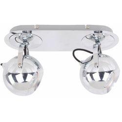 Listwa james fh5952-spx-120 lampa oprawa ścienna 2x50w gu1 0chrom marki Italux