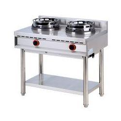 Kuchnia gazowa wok 2-palnikowa k-2 g 00007352 marki Redfox