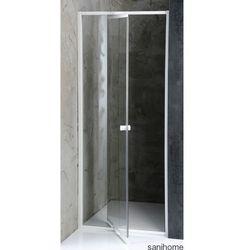 AMICO drzwi prysznicowe do wnęki 104-122 cm G100 - produkt z kategorii- Drzwi prysznicowe