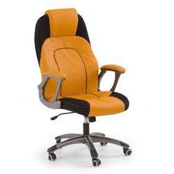 Fotel gabinetowy Halmar Viper pomarańczowo-czarny