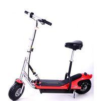 Hulajnoga elektryczna  z siedziskiem czerwony + zamów z dostawą jutro! wyprodukowany przez Frugal