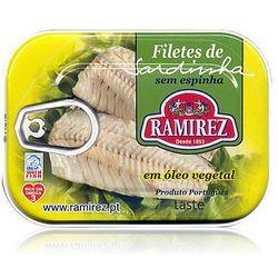 Ramirez Filety z sardynek portugalskich w oleju roślinnym  100g