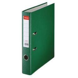 segregator a4 ekonomiczny z mechanizmem dźwigniowym 50mm, zielony marki Esselte