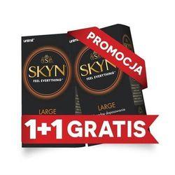 UNIMIL: 2 za 1 SKYN Large nielateksowe (2 x 10 szt.) - produkt z kategorii- Prezerwatywy