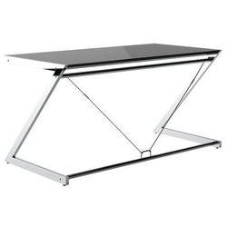 Biurko z-line main desk - czarny blat marki Unique