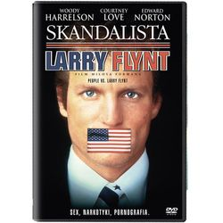 Skandalista larry flynt (dvd) - milos forman wyprodukowany przez Michael hausman, janet yang,