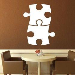 Wally - piękno dekoracji Tablica suchościeralna puzzle 089