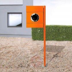 Stojąca skrzynka na listy letterman ii, pomarańcz. marki Absolut/ radius