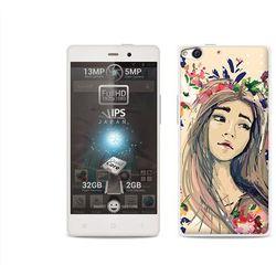 Etuo.pl Fantastic case - allview x1 soul - etui na telefon fantastic case - kolorowy wianek
