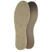 Wkładki do butów naturalny filc na aluminium 027 Mazbit męskie beżowy 45