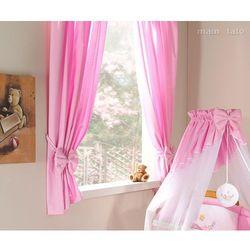 zasłonki różowe marki Mamo-tato
