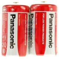 Bateria cynkowo-węglowa Panasonic R14 C - blister 2 sztuki
