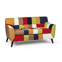 Sofa patchworkowa fiesta, 2 siedziska marki B2b partner