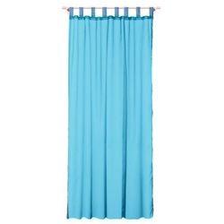 Firana Diana turkusowy, kolor niebieski