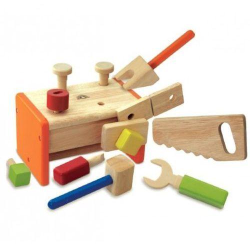 Skrzynka z narzędziami - drewniany zestaw (skrzynka narzędziowa zabawka)