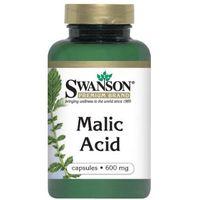 Kapsułki Swanson Malic Acid (Kwas jabłkowy) 600mg 100 kaps.