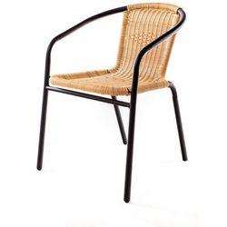 Happy Green Krzesło ogrodowe Ratan PE A08866 z kategorii Krzesła ogrodowe