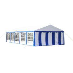 vidaXL Namiot imprezowy 10 x 5 m, niebieski