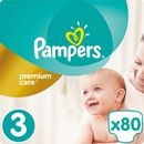 PAMPERS Premium Care 3 MIDI 80 szt. (4-9 kg) JUMBO PACK- pieluszki jednorazowe (4015400507499)