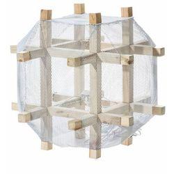 Dekoria  lampa podłogowa the cage 59cm, 59x59x59cm