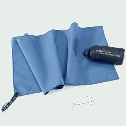 Ręcznik szybkoschnący  towel ultralight l - fjord blue marki Cocoon