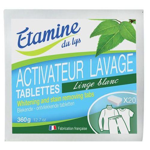 EDL tabletki do wybielania i usuwania plam z tkanin 20 szt, EDL - Etamine du Lys z BioEkoDrogeria