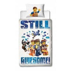 LEGO MOVIE 2 AWESOME KLOCKI POŚCIEL DWUSTR 140x200 (5056197117682)