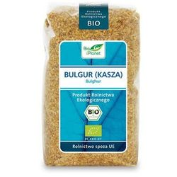 Bulgur (kasza) bio 500g -  wyprodukowany przez Bio planet