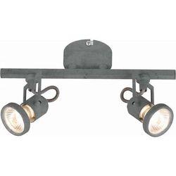 Britop Spot lampa sufitowa concreto 2728232  reflektorowa oprawa ścienna led 9w kinkiet regulowany szary