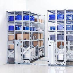 Regał przesuwny, archiwizacyjny, 3400x5000 mm marki Array