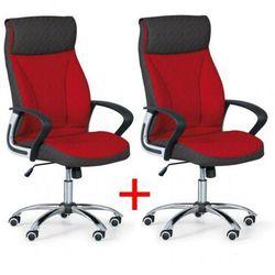 Fotel biurowy DERRY TEX 1+1 Gratis, czerwony
