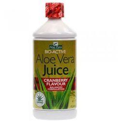 Miąższ aloesowy z sokiem z żurawin 500ml Bio-Active AloePura, kup u jednego z partnerów