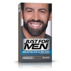Just For Men M-55 NATURALNA CZERŃ (europejska) Odsiwiacz, Żel broda,wąsy,baki 2x14,2g - sprawdź w wybranym