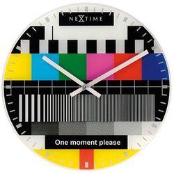 Zegar ścienny  little testpage marki Nextime