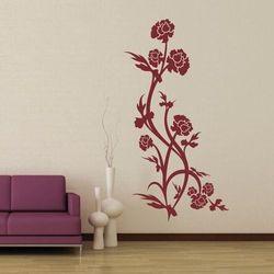 szablon malarski kwiaty 0894