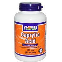Kwas kaprylowy 600 mg - 100 Softgels z kategorii pozostałe zdrowie