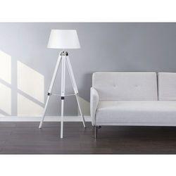Beliani Lampa stojąca biała - lampa podłogowa - oświetlenie - madeira (7081456442111)