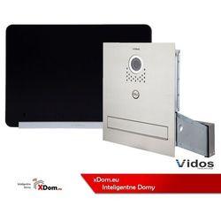 Vidos Zestaw s551-skm skrzynka na listy z wideodomofonem, monitor 7'' wideodomofonu m690bs2